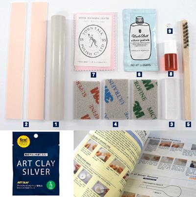 *Vuoden 2014 uusi Art Clay -hopeasavi aloituspaketti: Tee hopeariipus tai -maskotti