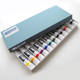 DECO ClayCraft Acryl Gouache, 12 värin laadukas akryylimaalisarja