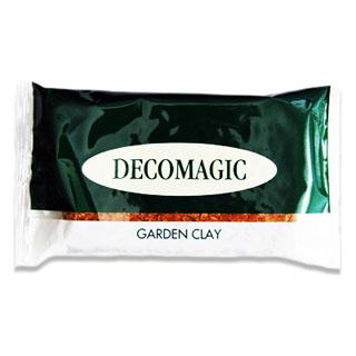 """*Tarjous* DECO ClayCraft Garden """"Puutarhamassa"""" , ruskea puun väri, muistuttaa puurouhetta, ilmassa kuivuva, 119g, OVH 9.45"""
