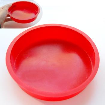 *Tarjous* Emalointi, työkalu, siivilään tiiviisti yhdistettävä astia, punainen, 1kpl (poistuu valikoimista)
