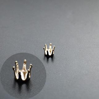 Istukka, hopea 925, pyöreälle kivelle, 3mm, 6 joustavaa haarakketta (napsusysteemi), 1 kpl *Saatavilla myös muita kokoja*