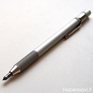 Kaiverrin, metallien merkintään ja kuvioiden piirtämiseen, terä tungstenkarbidia, kynämalli