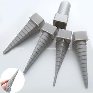 *Uutuus* Metallilangan muotoilukapula -setti: neliö, ympyrä, ovaali ja kolmio, porrastettu,