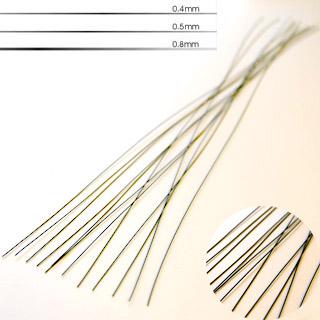 Työmateriaali: Kukkalanka, sidontalanka, pinnoitettu metallilanka, 0.5mm, 40cm, TUKKUPAKKAUS  50 kpl