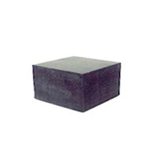 Kumikuutio, alasin, veisto-ja viilausalusta, PIENI: 50x50x30mm (uusi koko)