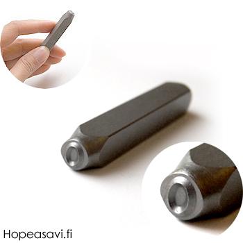 Leimasin, punsseli *SOIKEA*, leveys 5x5 mm, laadukasta karkaistua terästä, pituus noin 7cm, 1 kpl