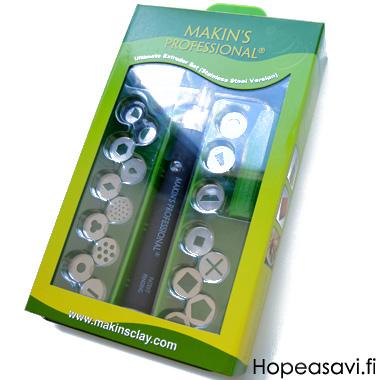 x Makin's Ultimate Pursotin, RVS ruostumaton teräs, 20 suutinta, myös metallisaville, OVH 69.95