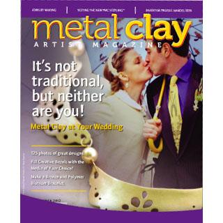 """*Poistomyynti* Lehti: Metal Clay Artist Magazine (Eng.) Vol 3. #2 """"Hääkorut metallisavesta"""" OVH 11.85"""
