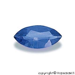 Spinelli, Sininen (Blue), Markiisin muotoinen 8x4mm, 1 kpl