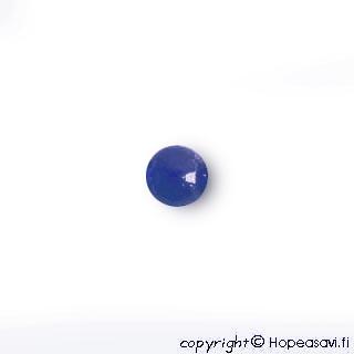 Lapis (Tumman sininen), Helmi, puoliväliinporattu, 6mm, 1kpl
