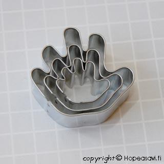 Muotti käsi, 3kpl setti
