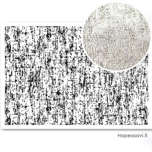 """*Erä - Syystarjous* Pintakuviointiin: Tekstuurilevy, joustavaa kumia, 14x9cm """"Muinainen pinta"""""""