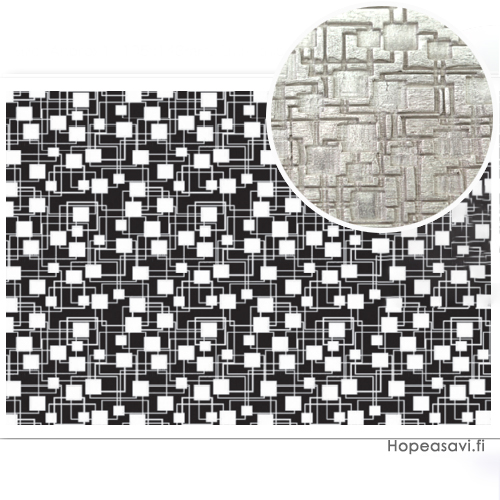 """*Erä - Syystarjous* Pintakuviointiin: Tekstuurilevy, joustavaa kumia, 14x9cm """"Retrokuvio"""""""