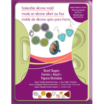 *Erä* Muotti: Korupohjia (esim. kapusseille/muotti APM81), mm. kolmio, ympyrä, donitsi & pisara, koot noin 1.75-3 cm, joustavaa silikonia, sopii uuniupaistoon