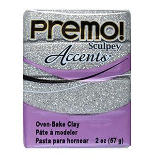 Premo! -- White Gold Glitter (valkoinen kulta glitteri)