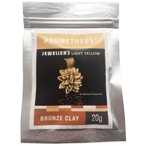 *Pronssisavi PBC: Prometheus Bronze Clay, Jeweller's Light Yellow, Vaalean Keltainen, 20g