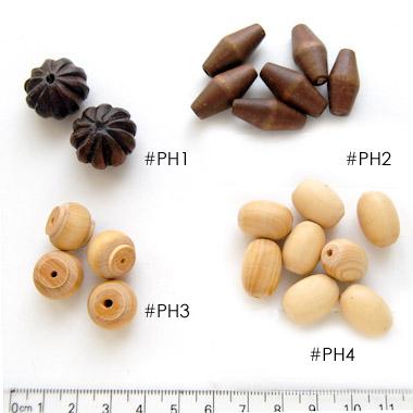 *Poistoale-rajoitettu erä* ´designerhelmiä, KUVAN #PH4, Laadukas sorvattu puuhelmi, pehmeä ja sileä tuntuma, noin 25x12mm, 8kpl pussi