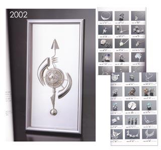 *Rajoitettu erä* Hopeakoru taidekilpailu 2002 - Silver Accessories Contest 2002 Exhibition book