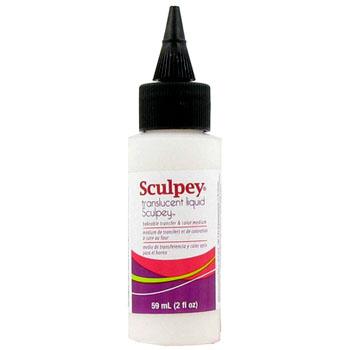 Sculpey läpikuultava neste, suljettava säilytyspullo, 59 ml