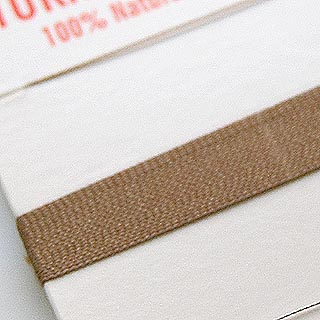 Silkkilanka (Griffin) helmikorujen tekoon, BEESSIN RUSKEA,  0.3mm, 2m, valmistettu Saksassa.
