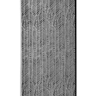 """Pintakuviointiin: Tekstuurilevy, joustavaa silikonia, 10x5cm, """"Sulka"""""""