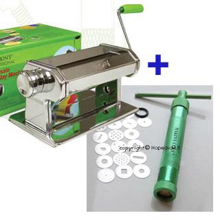 *Tarjous* Mankeli + pursotin polymeerimassatöihin: Makins ULTIMATE CLAY MACHINE ja pursotin