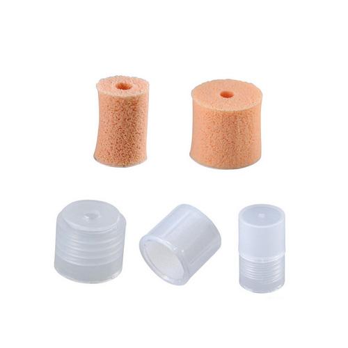 UV-hartsi viimeistelyyn: Pon Pon -tupsutin, suutin pinnan viimeistelyyn, helmipigmenteille ja viimeistelypinnoitteille, 2 kpl (9x12mm & 13x12mm)