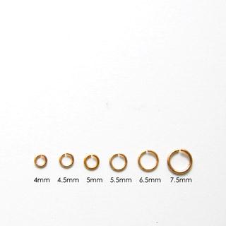 Välirengas, laadukas pronssi, pyöreä, sisämitta 3mm, ulkomitta 4.6mm, lanka 0.8mm, 10 kpl