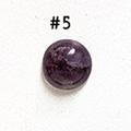 *Kivi Special* Ametisti, pyöröhiottu kapussi, pyöreä, kuvassa #5, läpimitta noin 8.5mm, paksuus noin 4.0mm, uniikki yksittäiskappale