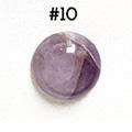 *Kivi Special* Ametisti, pyöröhiottu kapussi, pyöreä, kuvassa #10, läpimitta noin 12.0mm, paksuus noin 4.5mm, uniikki yksittäiskappale