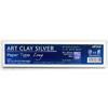 *Art Clay -paperi Long, pitkä hopea-arkki, 200x40x0.25mm, 15g *Tarjous: Muista lisätä ilmainen työohje ostoskoriin, lue lisää infosivulta*
