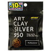 *SESONKITARJOUS* Art Clay Silver 950 Professional, hopea & kupari -sekoitus (polton jälkeen hopea 95%), 50g(2x25g)+5g bONUS