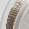 *ALE -20%* Artistic Wire, hopeoitu laadukas kuparilanka, ei-tummuva, pehmeä, 0.8mm, 7.6m kiekko, OVH 10.80