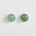 *Uutuus* Aventuriini, vaalea vihreä, värin sävy uniikki, pyöreä, 6mm, 1 kpl