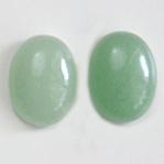 *Uutuus* Aventuriini, vaalea vihreä, värin sävy uniikki, soikea, 16x12mm, 1 kpl