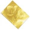 Kultafolio, 24K puhdasta kultaa, kultaukseen (Keumbu tai Keum boo -tekniikka) ja koristeluun, noin 50x35mm, 1 kpl