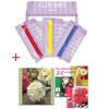 *Pakettitarjous* DECO ClayCraft -tutustumispaketti: Kirja + 4 pakettia massaa: Valkoinen, punainen, sininen ja keltainen OVH € 72.30