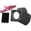 *Vinkki* Korurasia/ esittelyteline, erityisen juhlava lahjarasia, musta, korupaikka 55x45mm, valmistettu Japanissa