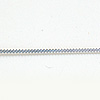 Filigraani -koristelanka, hopea 925, 1.0x0.5mm (ohut), 20 cm