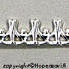 *Poistomyynti -huom mitta* Hopeanauha *Kruunu A* -kruunun kohdalla nauhan leveys noin 5mm, paksuus noin 0.8mm, hopea 925, noin 1.8cm (3 kruunua)
