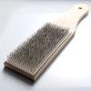 Viilojen puhdistusharja (viilaharja), terästä, harjasosan koko noin 10x4 cm, laadukkaat harjakset, erittäin vahva