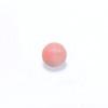 *Uutuus* Helmi, koralli, pinkki (v/t), pyöreä, puoliväliin porattu, 6mm, 1 kpl
