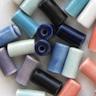 *Mallikappale-Poistoale* #PS11 -Posliinihelmiä, putkiloita, erilaisia värejä, noin 10x4mm, 14 kpl
