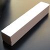 Työkalu emalointiin: Hohkakivi, alumiinioksidia, emaloitujen töiden reunojen siistimiseen, karkeus 220, koko 15x2.5cm