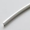 Hopea 925, PAKSU NAUHA, litteä, 3mm x 1mm, noin 9.8-10cm