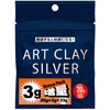 *Sesonkitarjous* Art Clay Silver -hopeasavi, 20+3g, UUSI KOOSTUMUS -nyt samaan hintaan enemmän hopeasavea