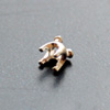 Istukka, hopea 980, pyöreälle kivelle, 3mm, haarakkeissa kolot, 2 kpl
