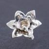 """*Uutuus* Istukka """"LILJA"""" pyöreälle 3mm zirkoniakivelle, hopea 925, tukeva ruuvimainen istutuspiikki"""