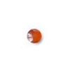 Karneoli, Kapussi (vaalea) pyöreä 5mm, 1 kpl *Tarjous*