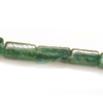 *Kivi Special* Kaunis, harvinainen aventuriini, kuvassa #G06, nelikulmainen siro putkihelmi, noin 5-9x5mm, noin 32 cm nauha, OVH 4.95